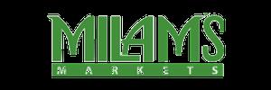 Milams logo